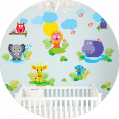 French Bull Jungle decals