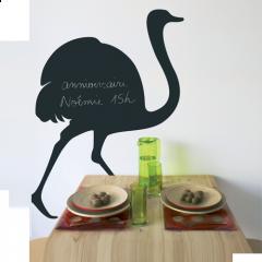 Giant Chalkboard sticker - Ostrich